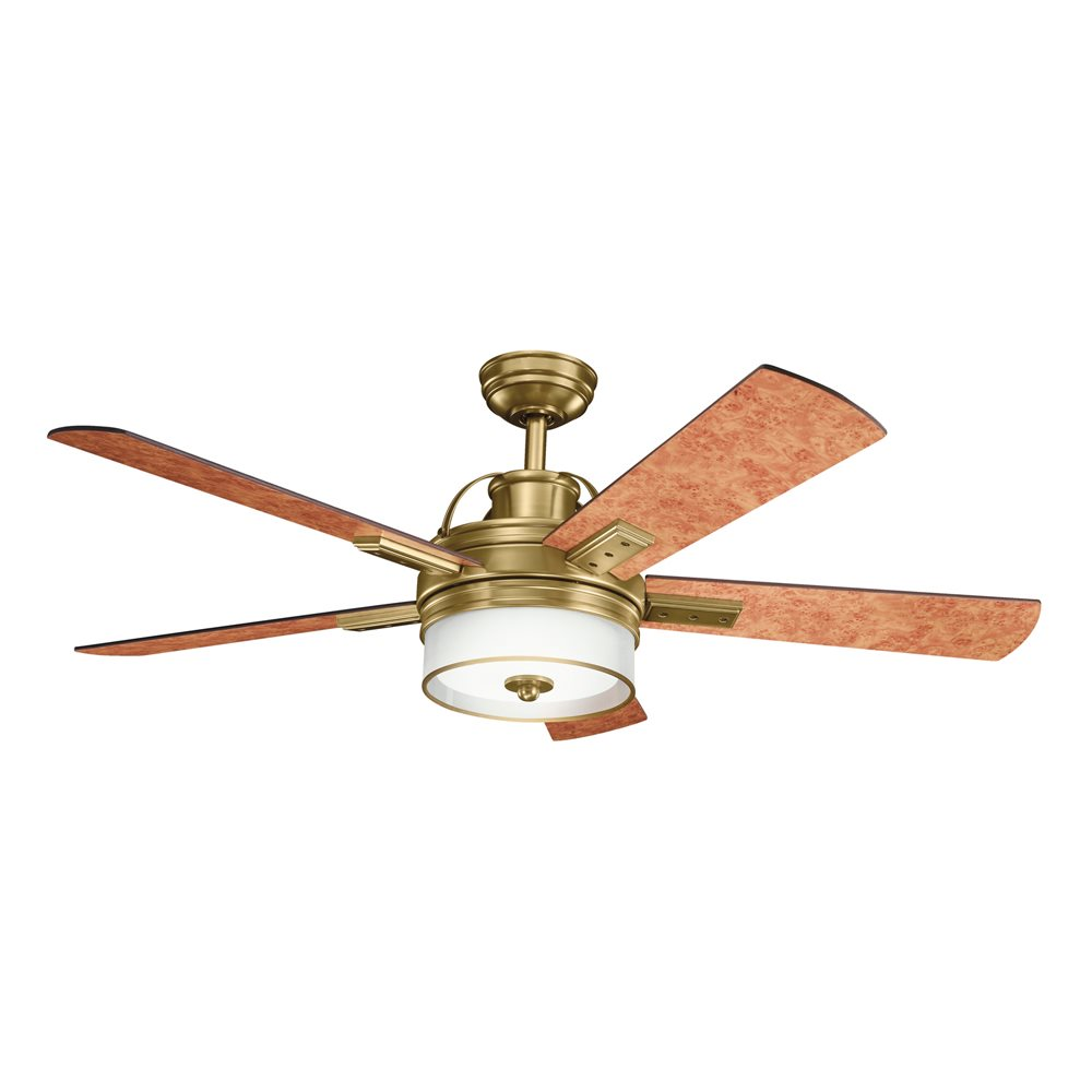 DECORATIVE FANS 300181BAB Lacey 52 Transitional Ceiling