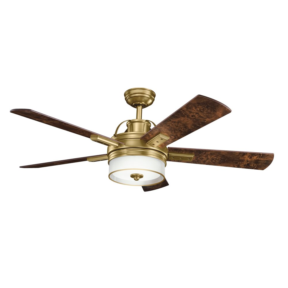 "DECORATIVE FANS 300181BAB Lacey 52"" Transitional Ceiling"
