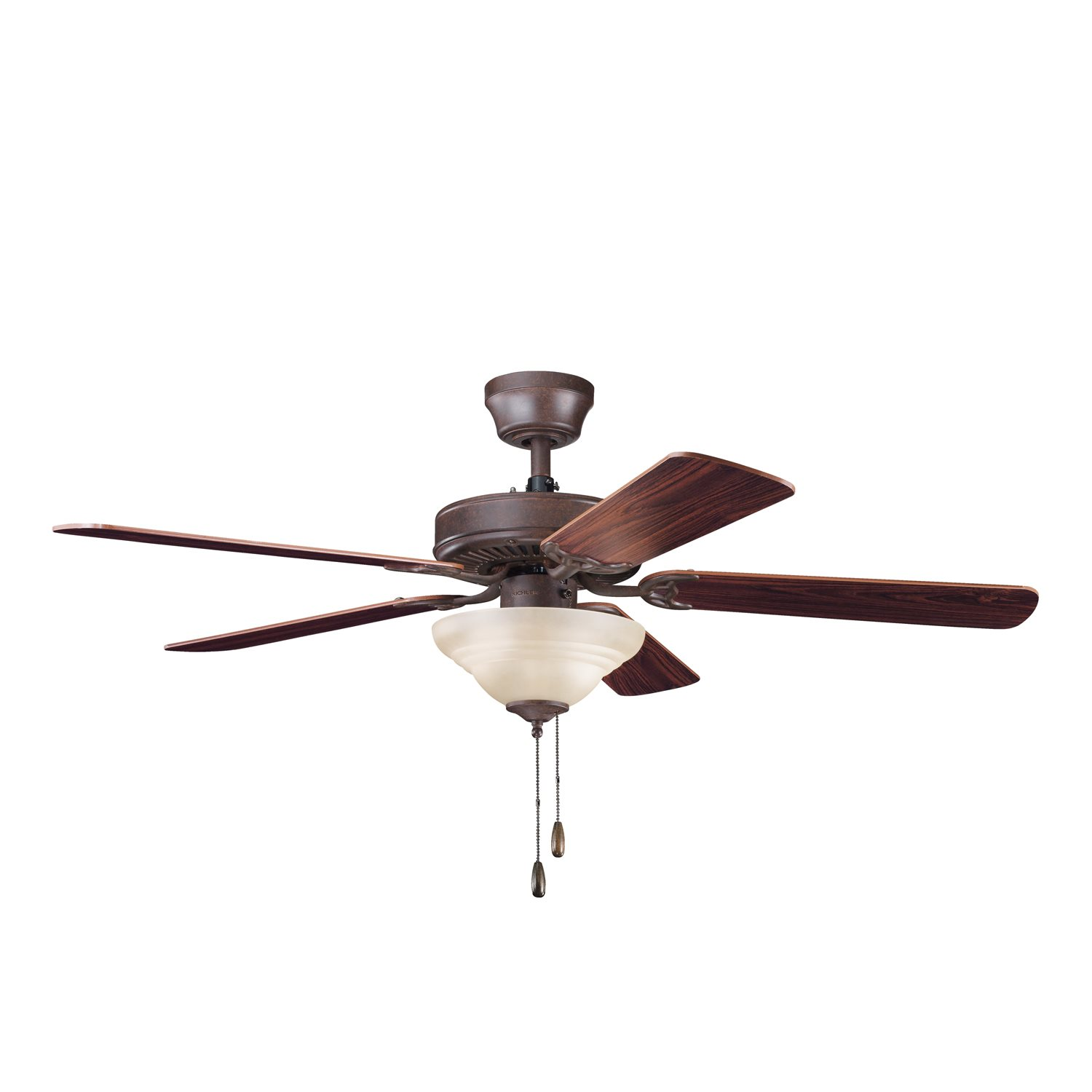 "Kichler Lighting Sterling Manor Select ES 52"" Transitional Ceiling Fan ..."