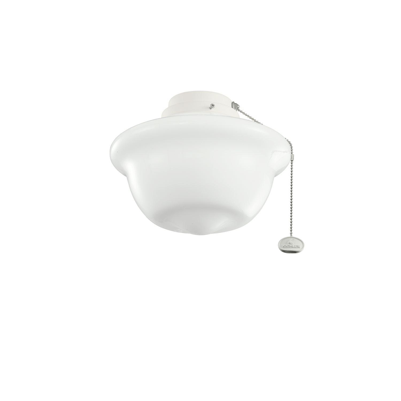 kichler lighting 380904snw 10 fluorescent school house ceiling fan light kit kch 380904snw. Black Bedroom Furniture Sets. Home Design Ideas
