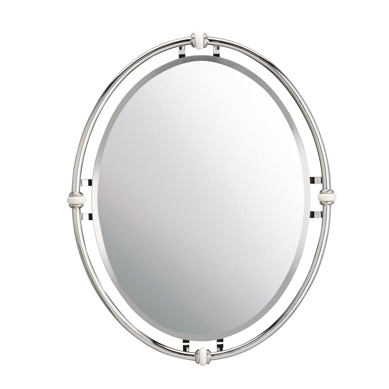 WESTWOOD Pocelana Modern  Contemporary Oval Mirror  eBay