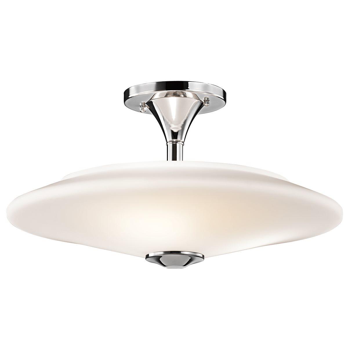 Kichler Lighting 42079CH Contemporary Semi Flush Mount