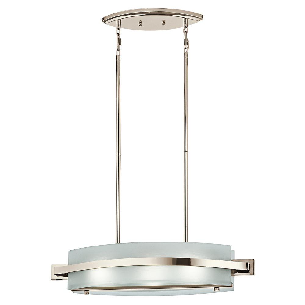 Kichler lighting 42090pn freeport contemporary kitchen for Contemporary kitchen island lighting