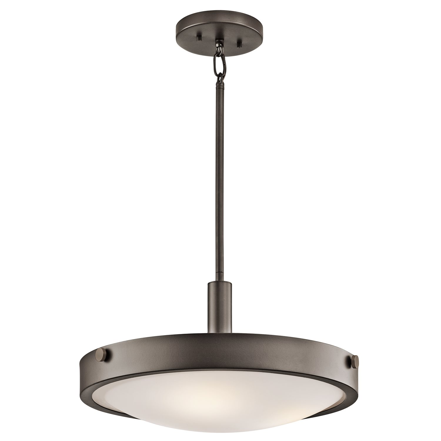 Kichler Lighting: Kichler Lighting Lytham Olde Bronze Inverted Pendant Light