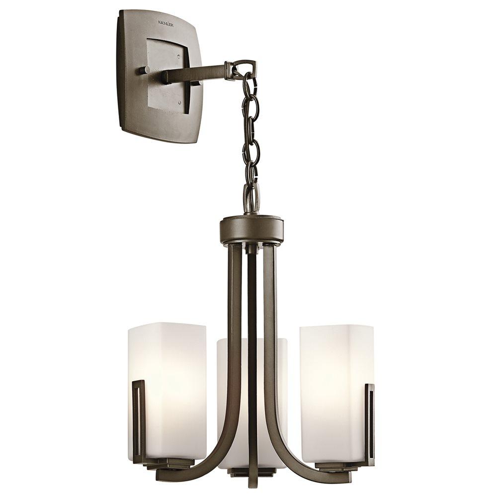 Kichler Lighting 42424SWZ Leeds Soft Contemporary ...