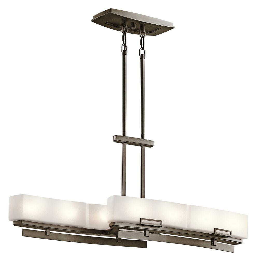 Kichler Lighting 42427SWZ Leeds Soft Contemporary Kitchen