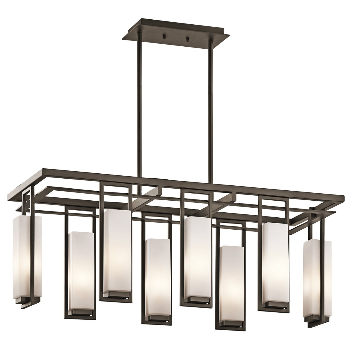 kichler lighting 42935oz perimeter modern contemporary