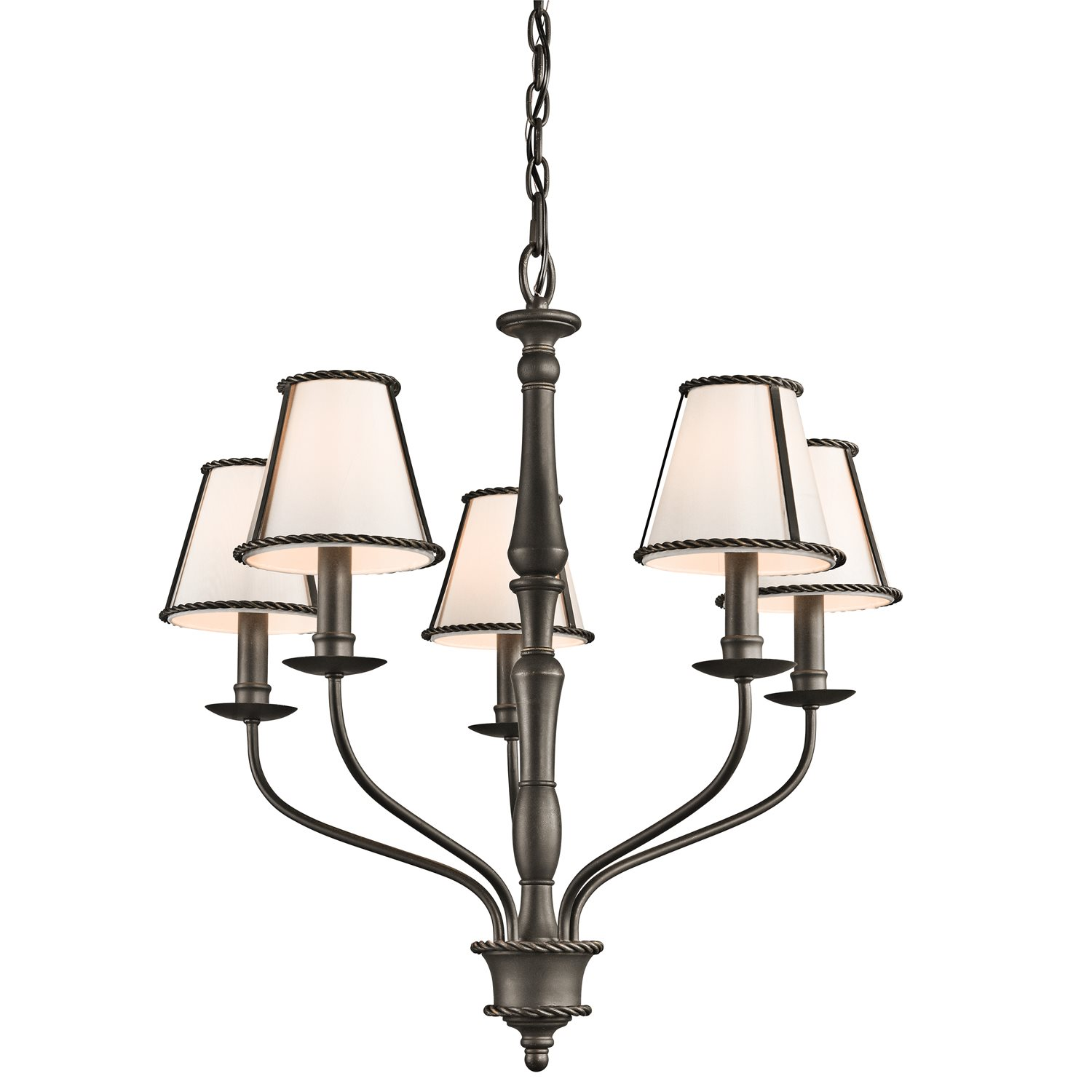 Kichler lighting 43339oz donington 5 light traditional for Classic home lighting