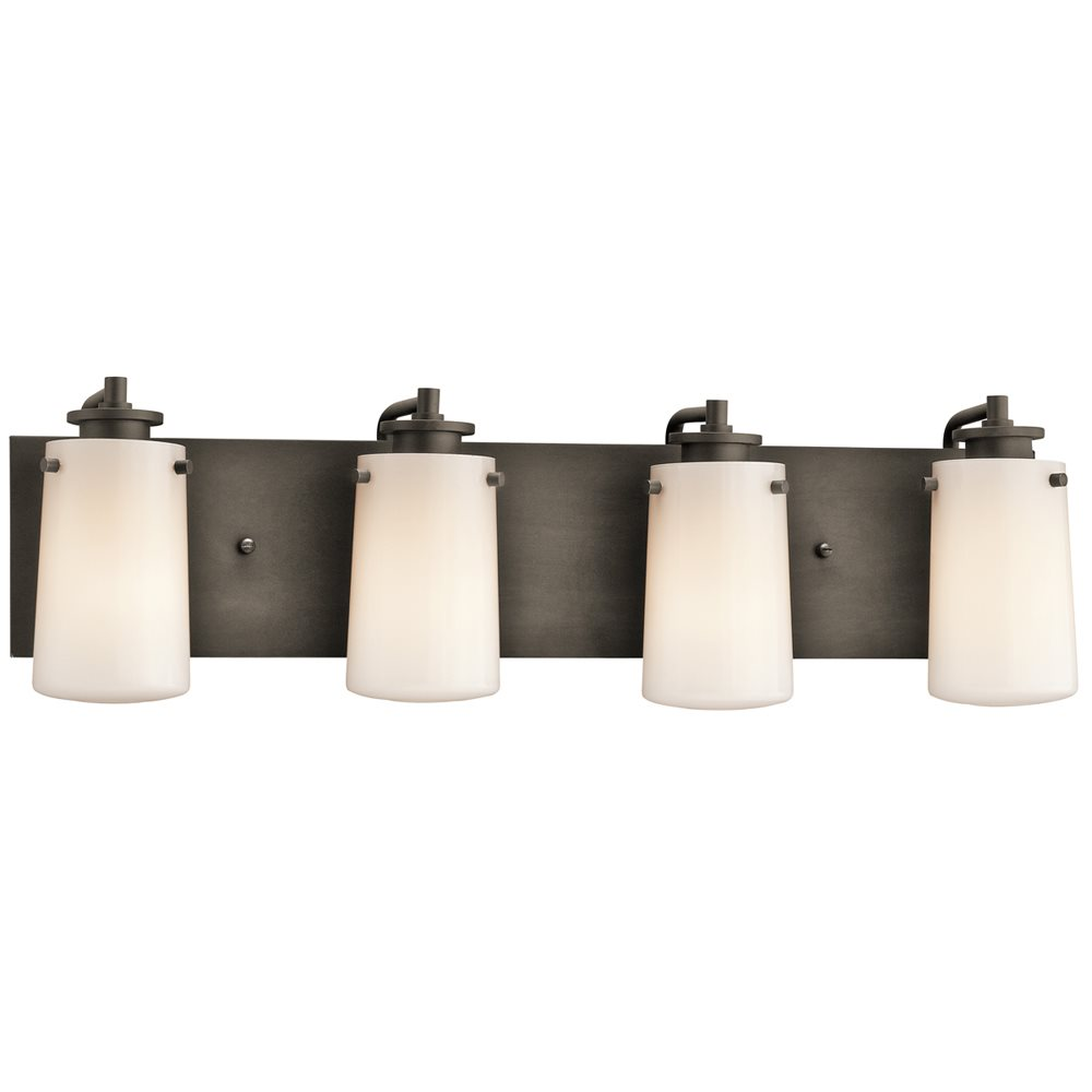 Bathroom Vanity Lights Kichler : Kichler Lighting 45268OZ Knox Modern / Contemporary Bathroom / Vanity Light KCH-45268-OZ