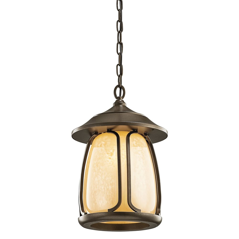 Kichler lighting 49143oz pasadena arts and crafts mission Outdoor pendant lighting