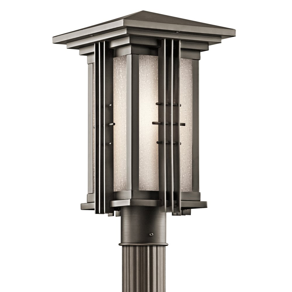 Kichler Lighting 49162OZ Portman Square Arts And Crafts Mission Outdoor Post