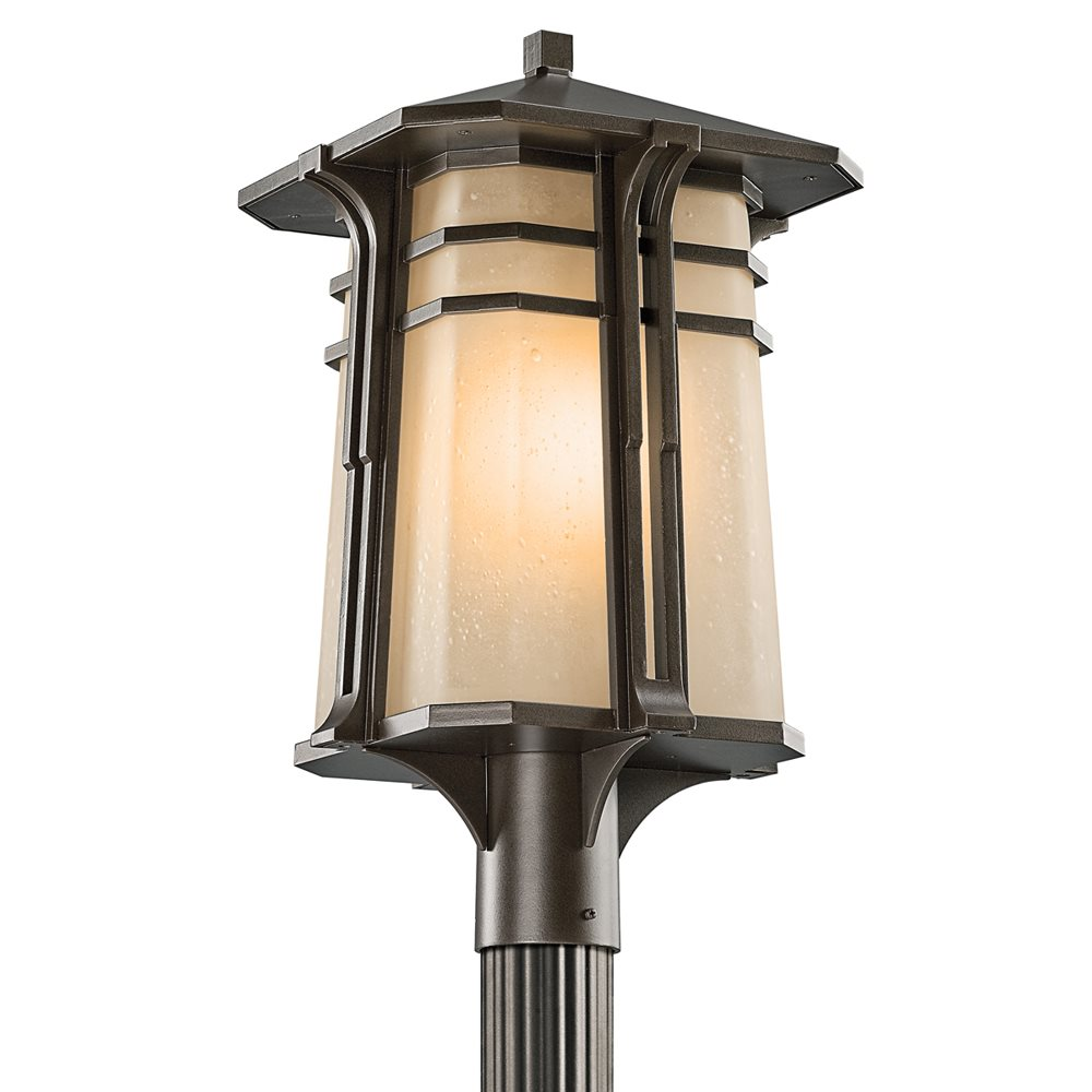 Kichler lighting 49179ozfl north creek arts and crafts for Arts and crafts style outdoor lighting