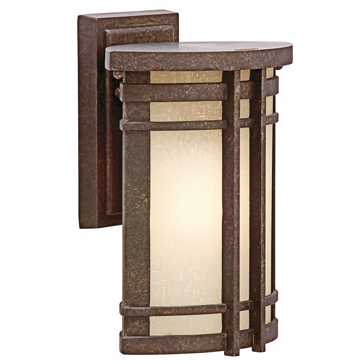 Kichler lighting 49319agz crosett transitional outdoor for Küch