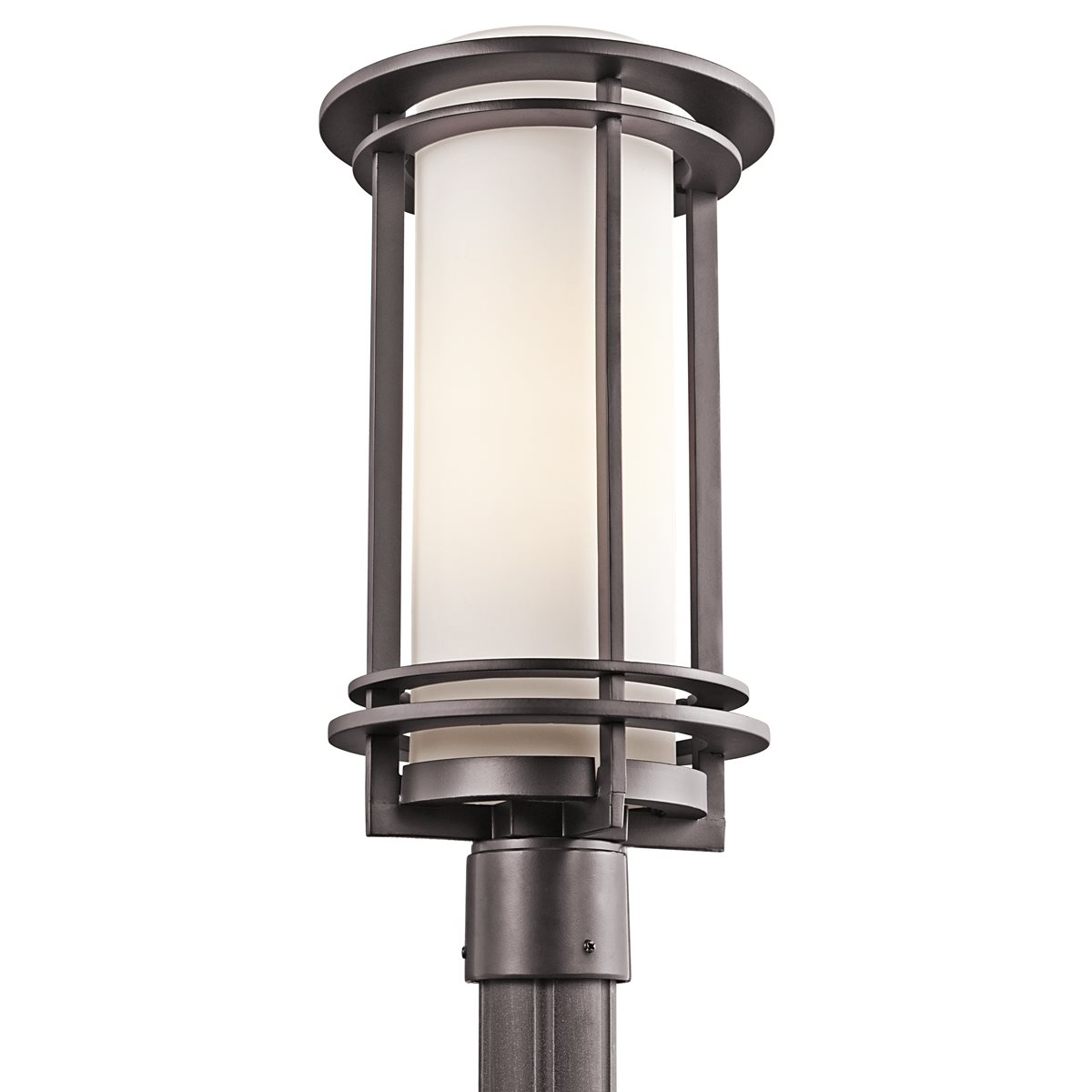 Kichler lighting 49349az pacific edge modern for Outdoor yard light fixtures