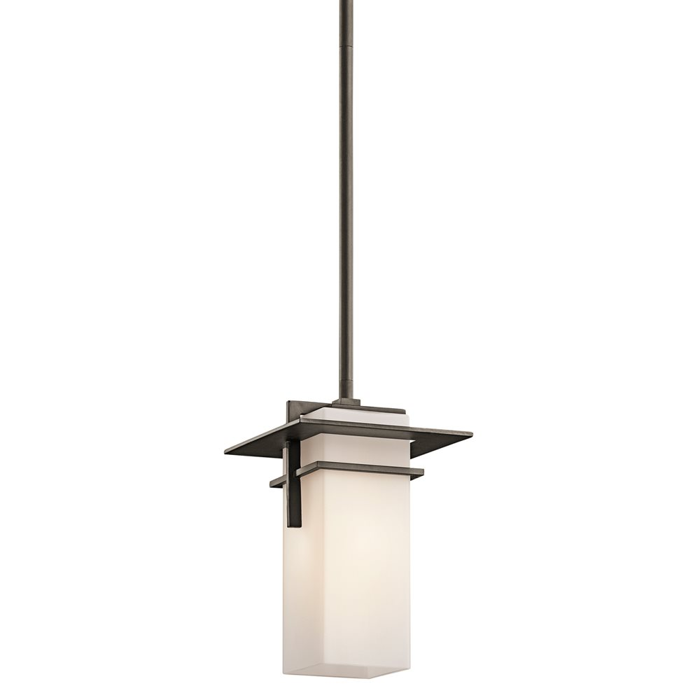 Exterior Mini Lighting: Kichler Lighting 49640OZ Caterham Indoor / Outdoor