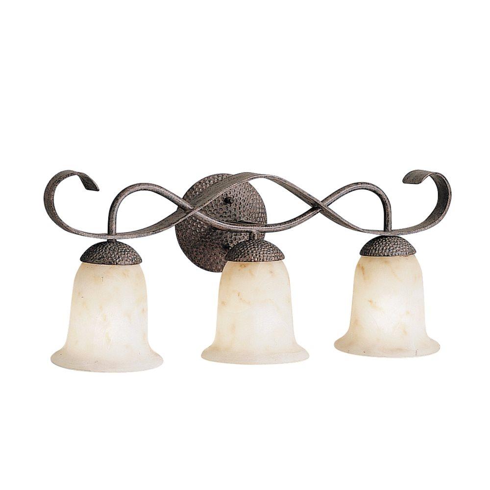 Kichler Lighting 6371OI High Country Transitional Bathroom / Vanity Light KCH-6371-OI