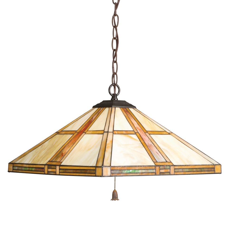 Kichler Lighting 65069 Art Glass Tiffany Pendant Light KCH