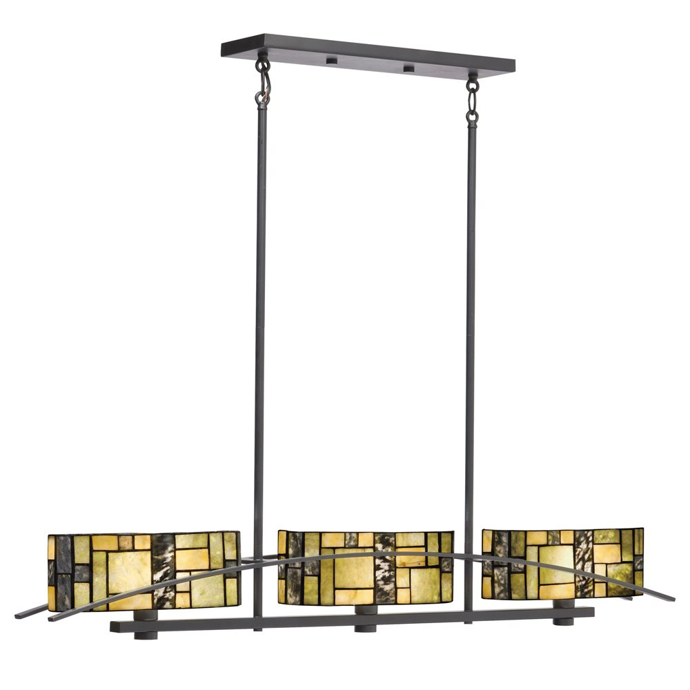 Kichler Lighting 65326 Bayonne Tiffany Kitchen Island