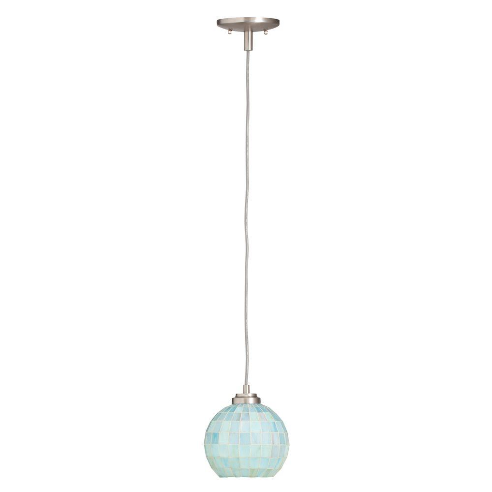 Tiffany mini pendant lighting kitchen : Kichler lighting casita tiffany mini pendant light
