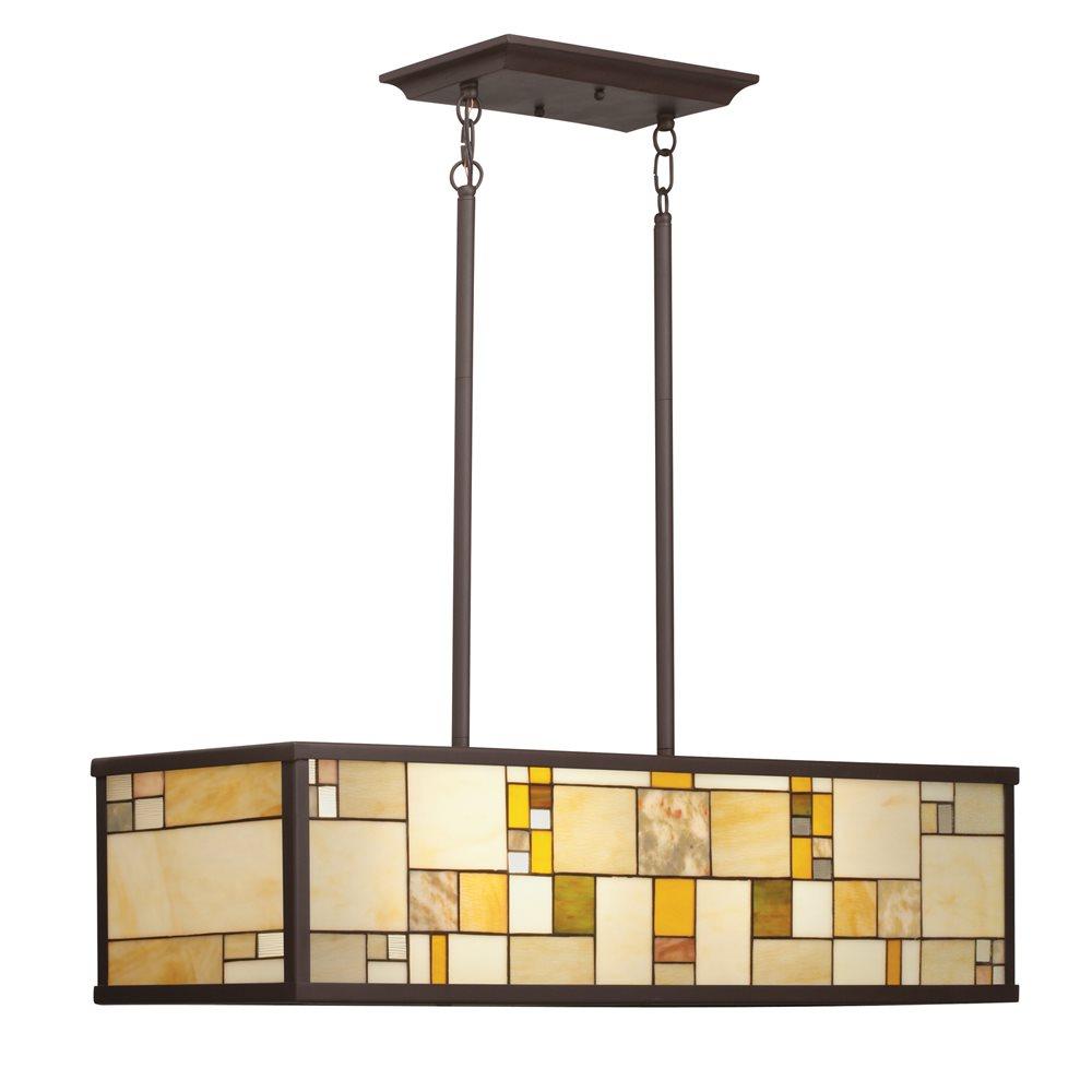 Kichler Lighting 65338 Riverview Tiffany Rectangular