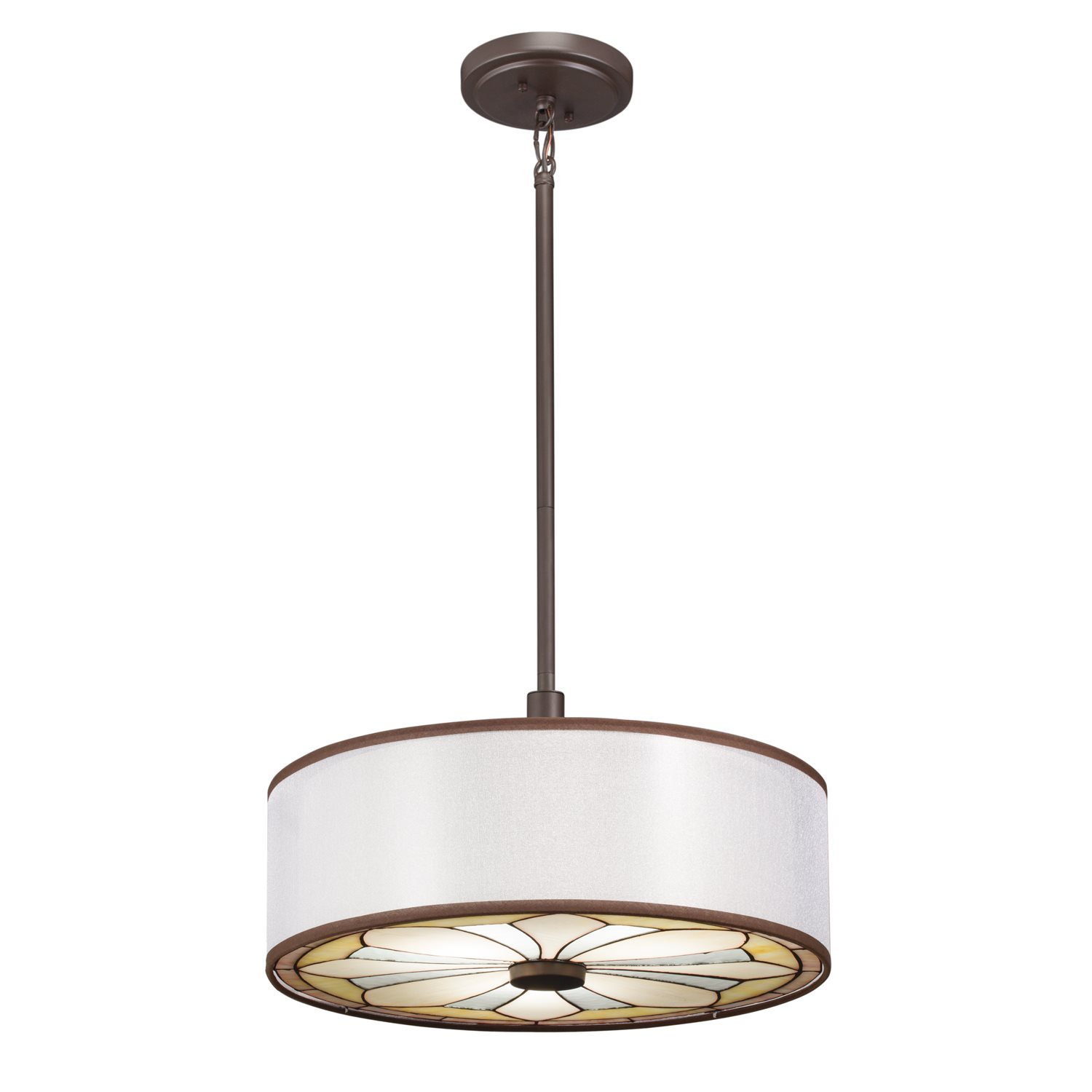 kichler lighting 65388 louisa transitional pendant light