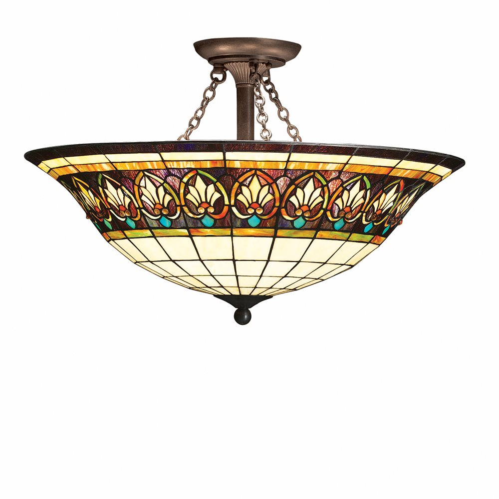 Kichler Lighting 69050 Provencia Tiffany Victorian Semi
