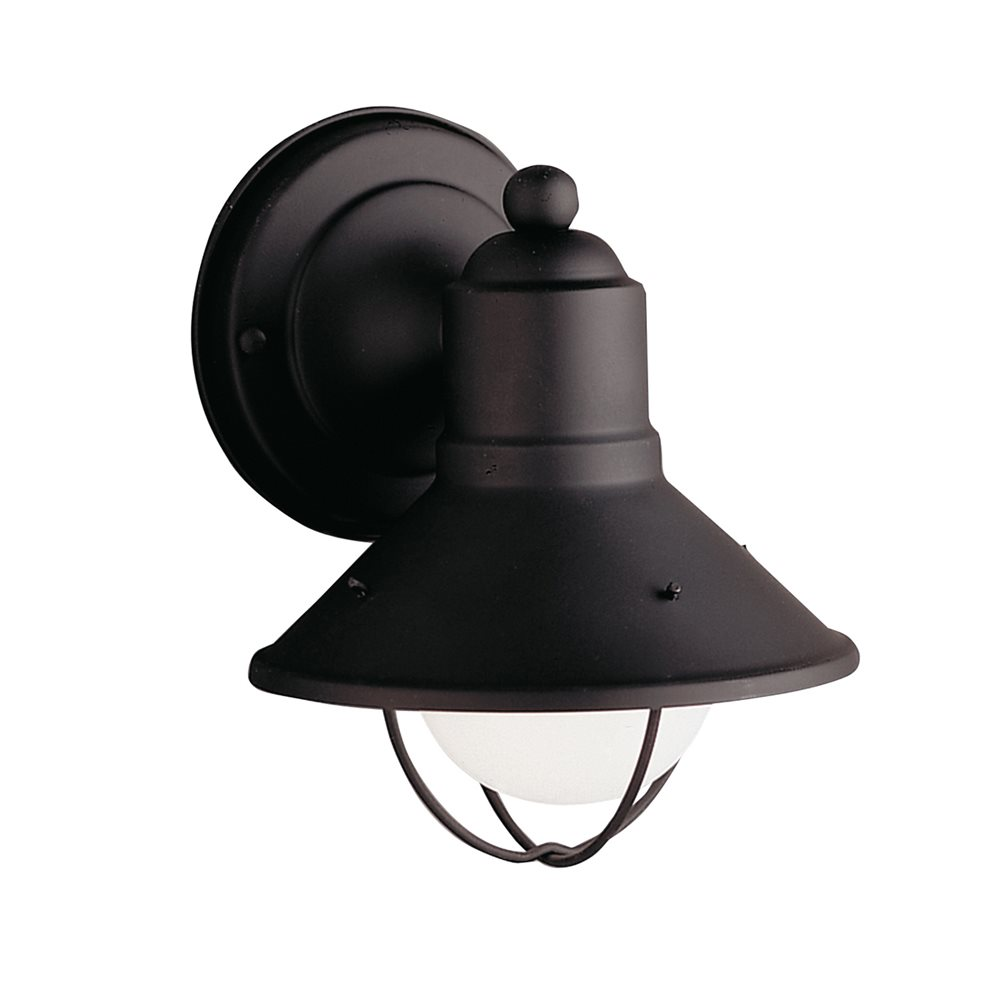 Kichler lighting 9021bk seaside lodge country rustic for Outdoor sconce lighting fixtures