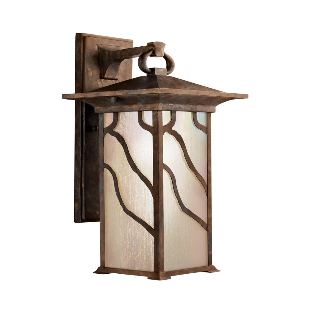 Kichler Lighting 9031DCO Morris Arts And Crafts Mission Outdoor Wall Sconce K