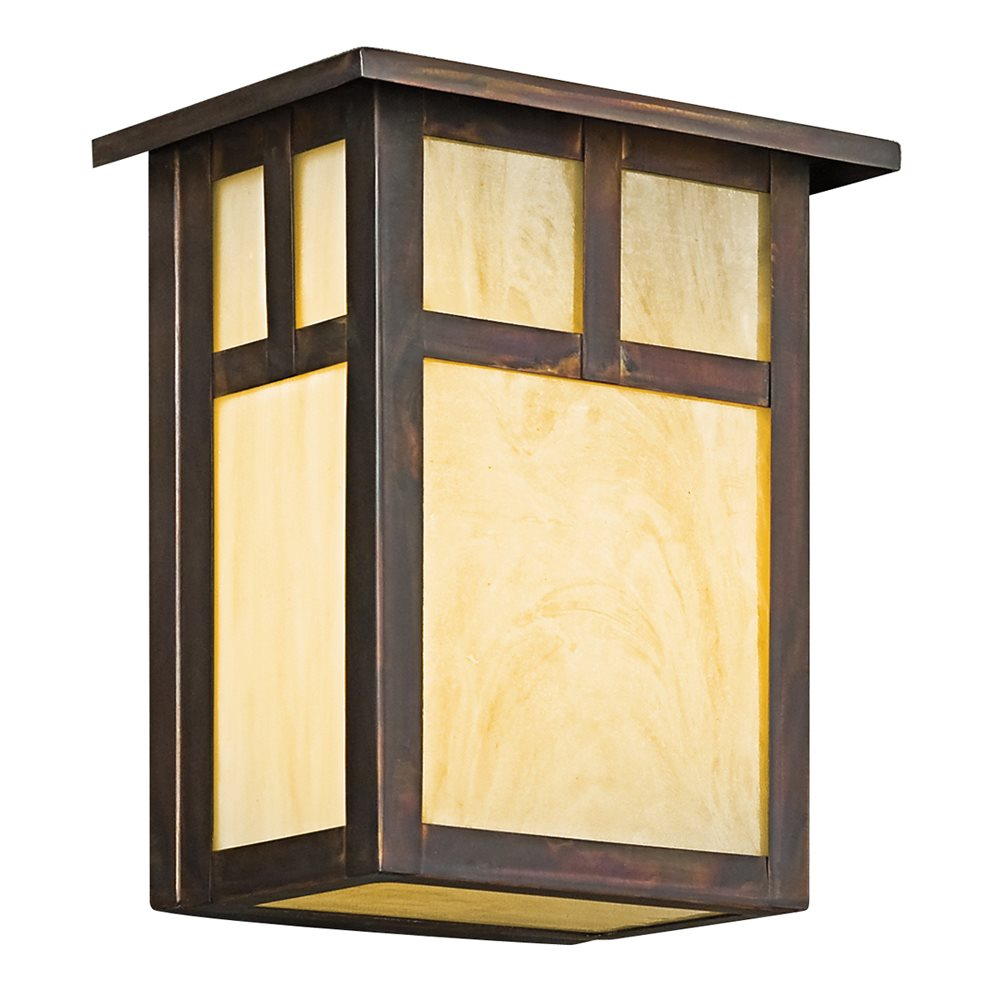 Kichler Lighting 9143CV Alameda Arts And Crafts Mission Outdoor Wall Sconce K