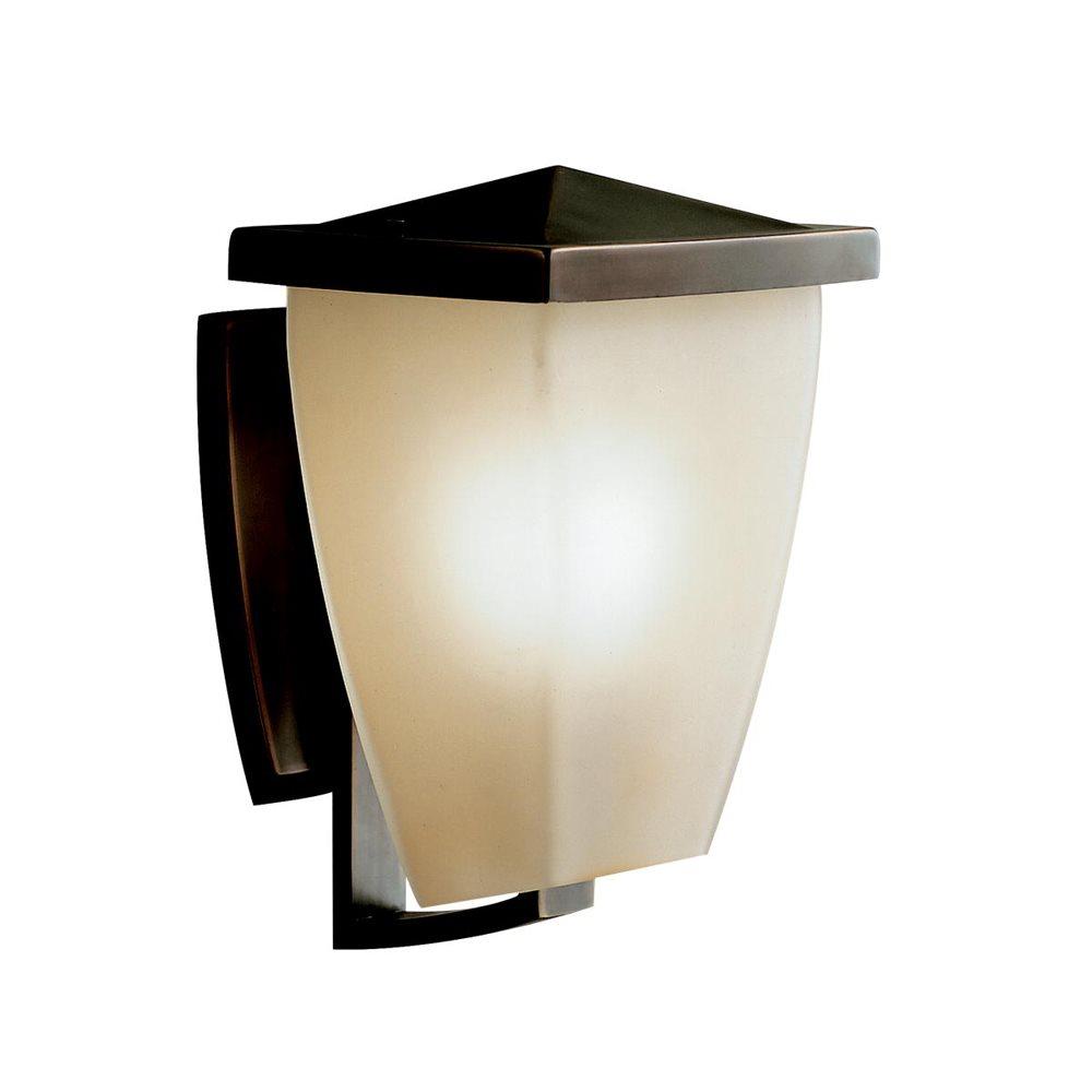 Kichler lighting 9429oz benton hard contemporary outdoor for Lampe exterieur avec detecteur