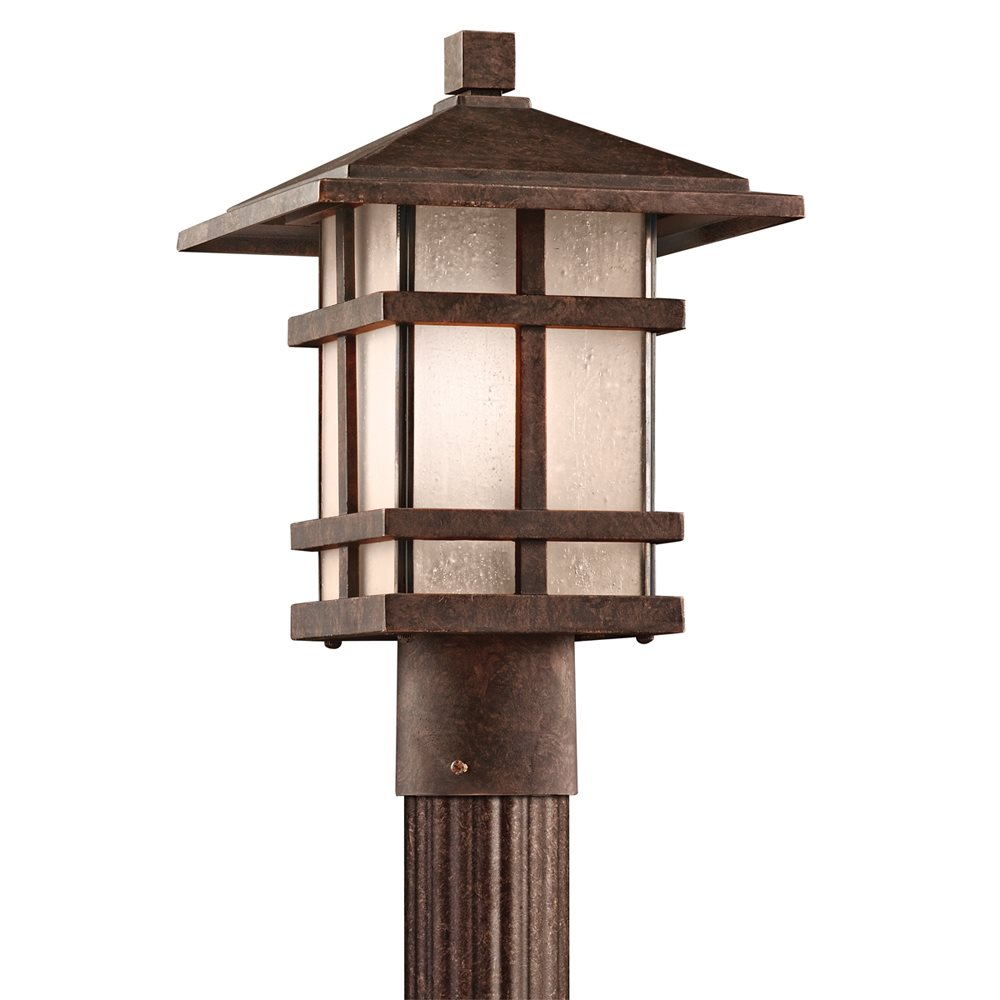 kichler lighting 9527agz cross creek arts and crafts mission outdoor