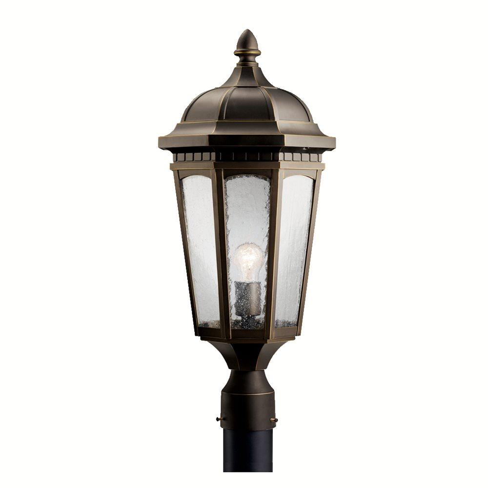 Courtyard Traditional Outdoor Post Lantern Xhck Zr 2359