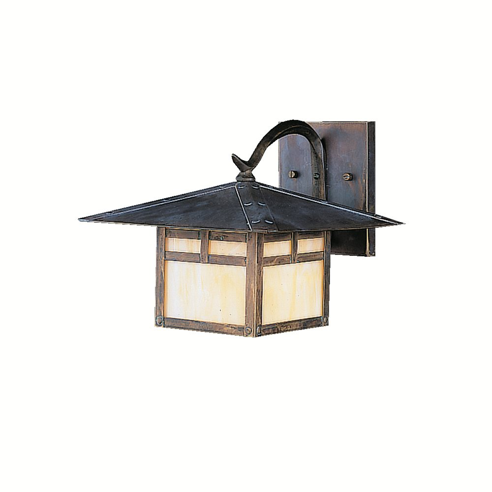 Outdoor Lighting Fixtures Arts And Crafts Kichler Lighting 9724CV La Mesa Arts And Crafts Mission Outdoor Wall Sconce K