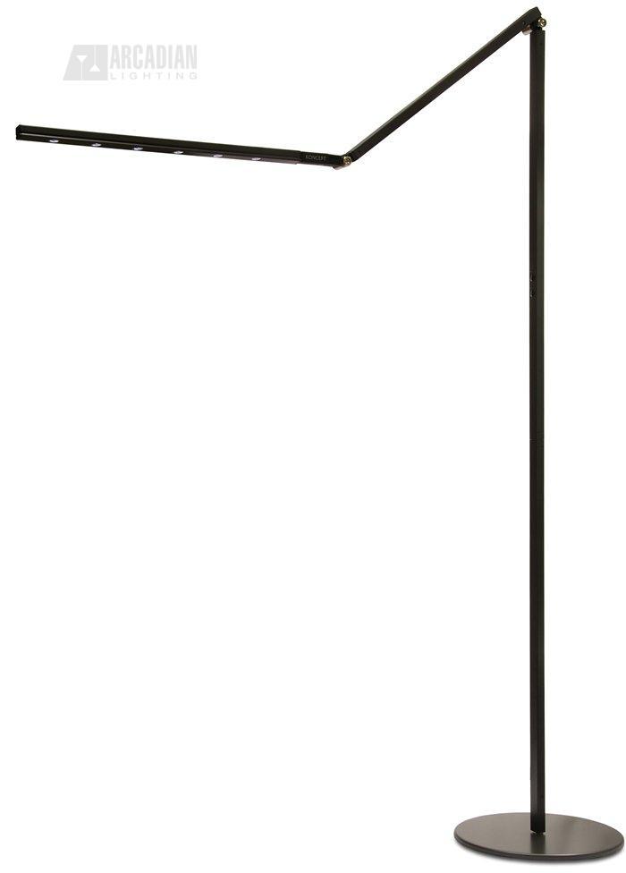 MBK - Black finish  sc 1 st  Arcadian Home & Koncept Lighting HL5000 i-Tower High Power LED Floor Lamp KON-HL5000