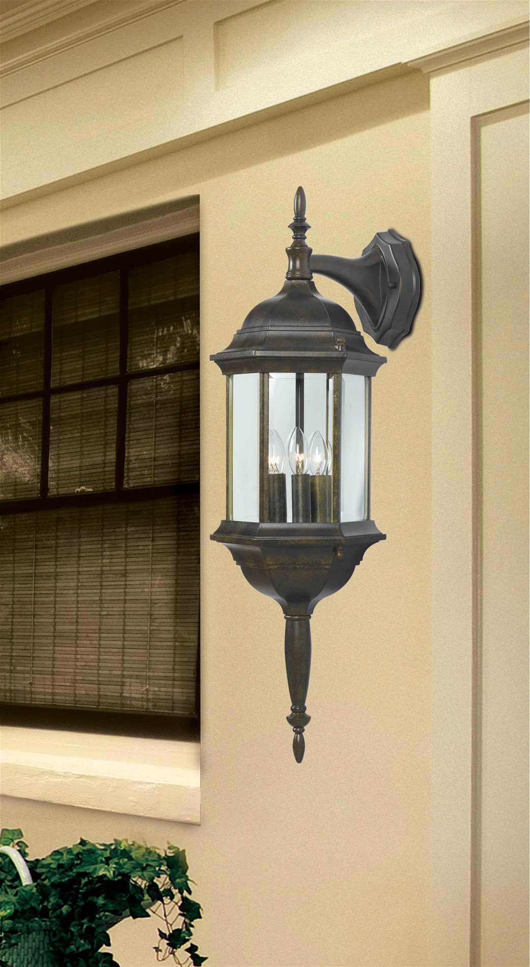 Kenroy 16267GBRZ Custom Transitional Outdoor Wall Sconce KR-16267-GBRZ