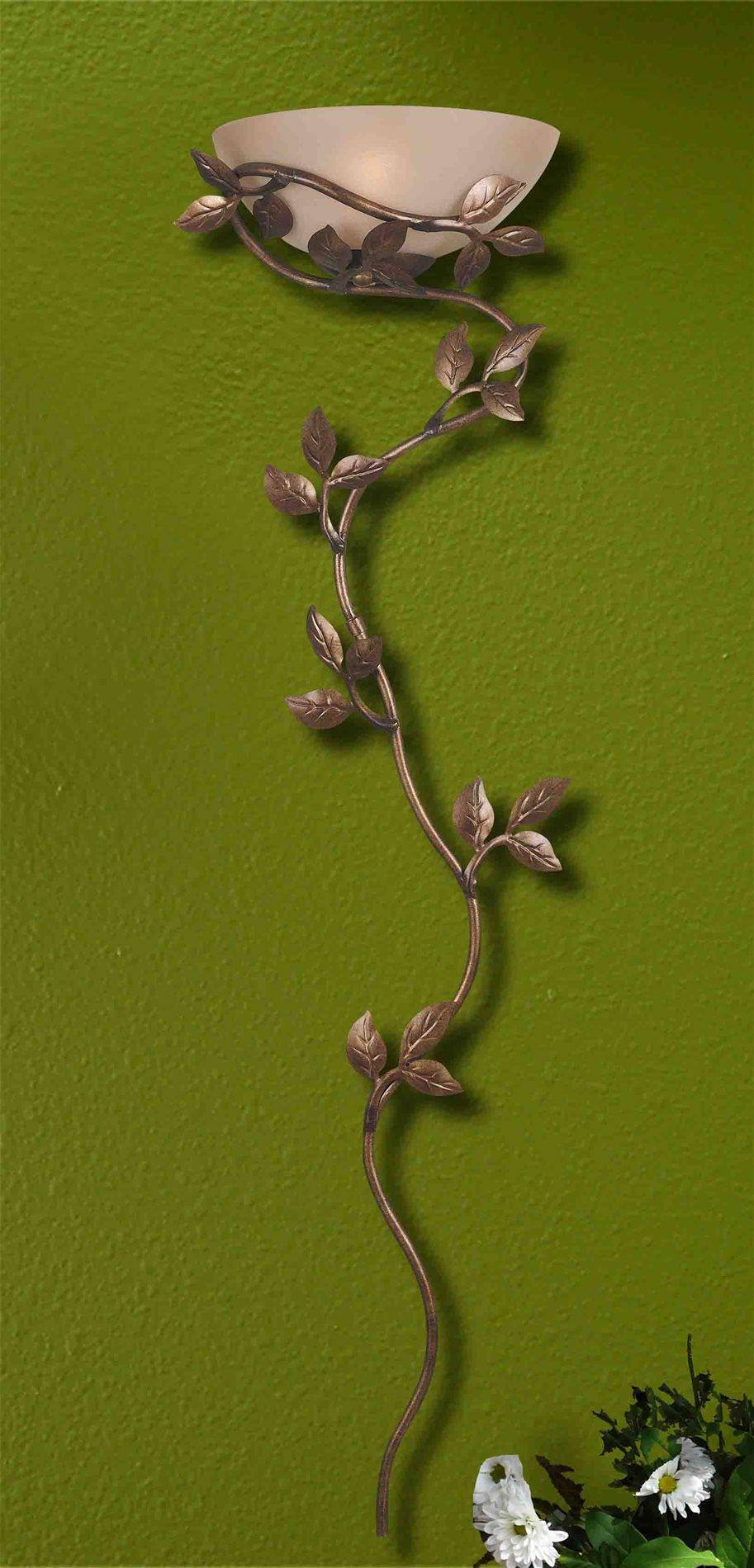 Kenroy 20624glbr Flower Vine Traditional Wallchiere Kr