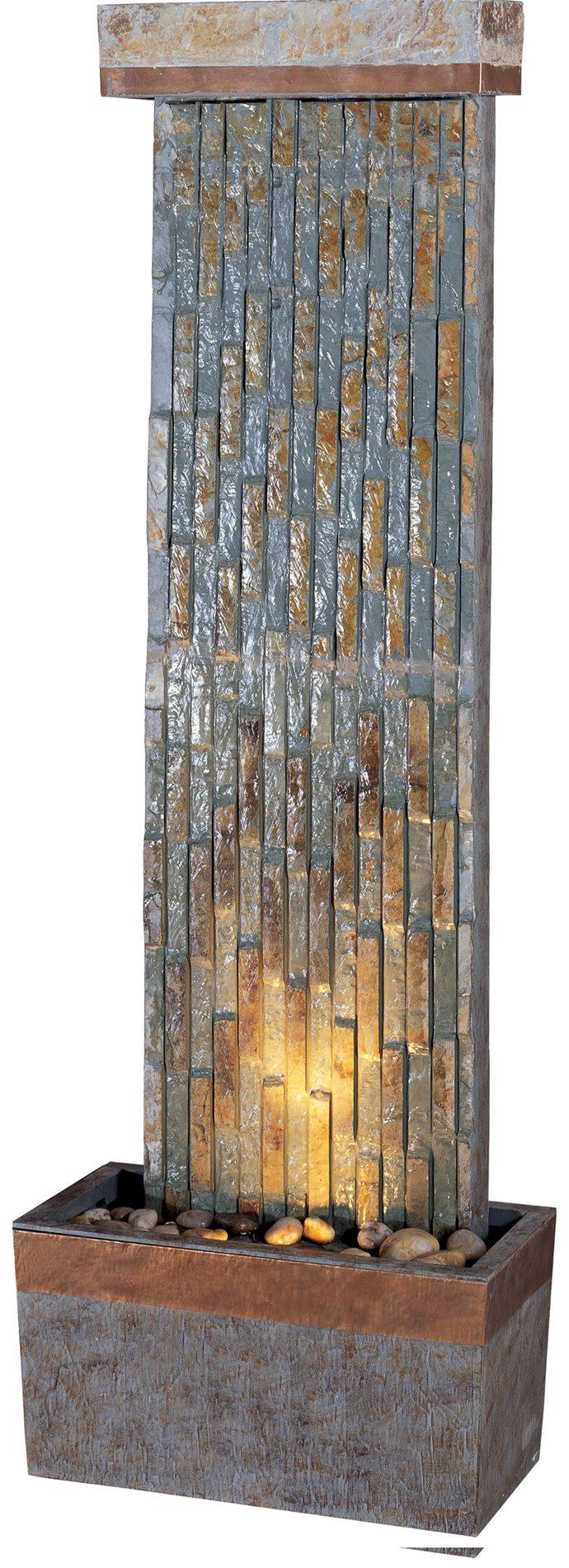 Kenroy 50294slcop Tacora Vertical Floor Fountain Kr 50294