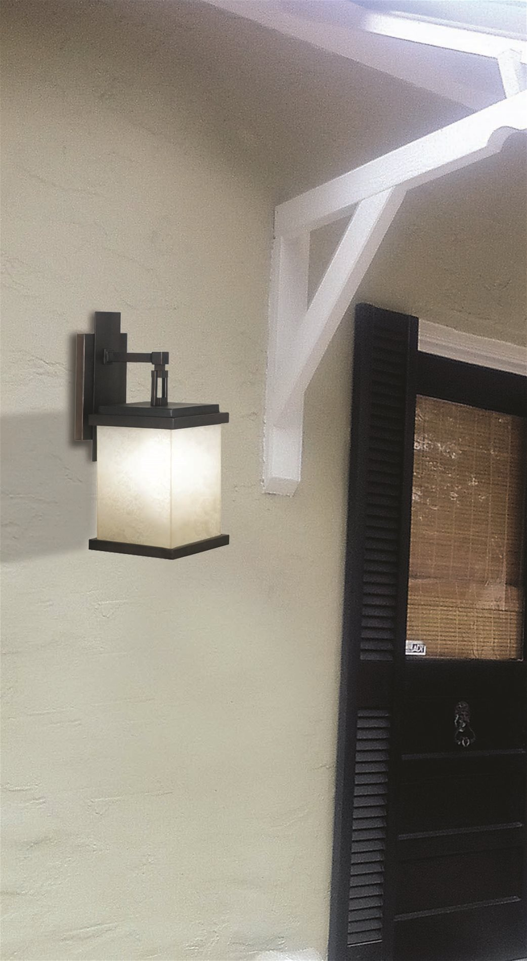 Kenroy 70212ORB Plateau Contemporary Outdoor Large Wall Sconce KR-70212-ORB