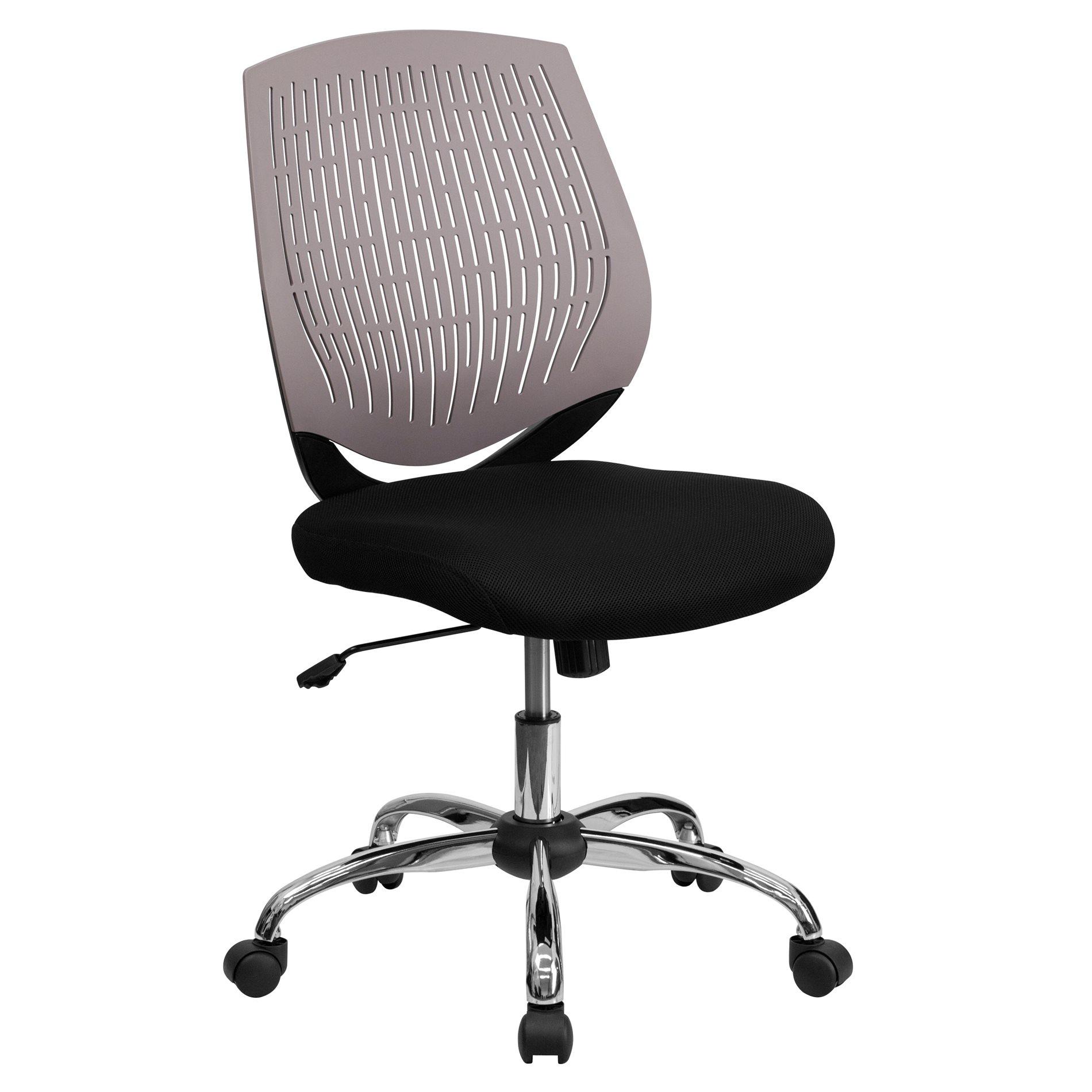 flash furniture lf x6 grey gg office chairs plastic back