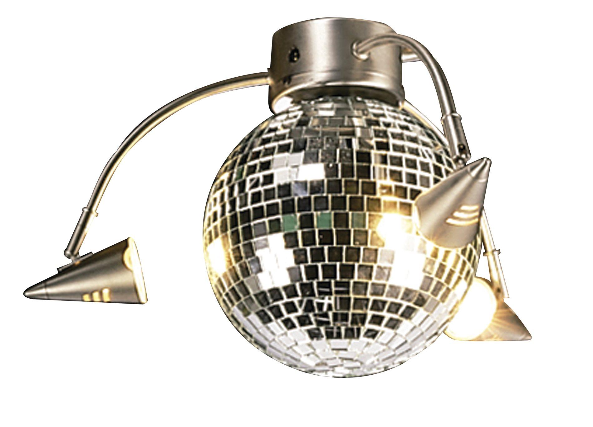 Craftmade lk55l bn 3 spotlight disco ball light kit cm lk55l bn zoom aloadofball Images