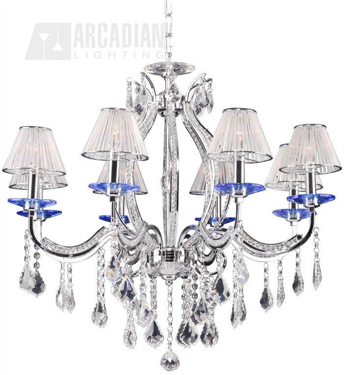 Lumax 0216 31c 8 Light Traditional Crystal Chandelier Lm