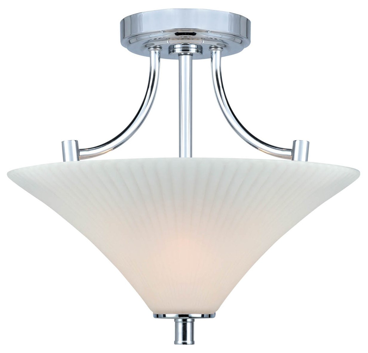 Lite source ls 5729 ragnar modern contemporary semi for Semi flush mount lighting modern