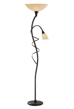Lite Source Ls 81571 Wavia Contemporary Reading Torchiere Lamp Ls 81571