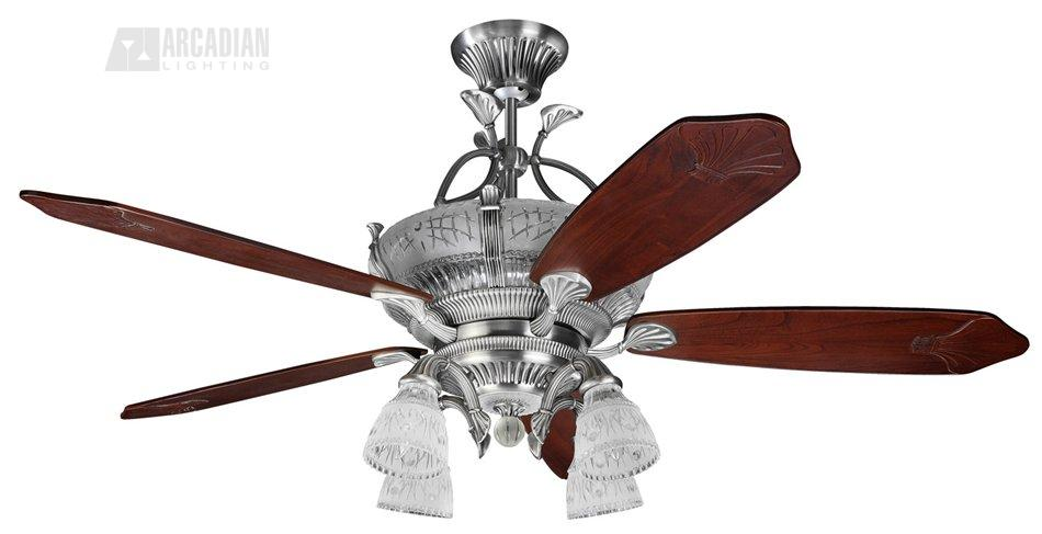 Monte carlo fan 5crr66ep4 66 crystoria traditional ceiling fan mc english pewter finish with carved mahogany blades and hand cut 24 lead crystal glass light kit aloadofball Choice Image