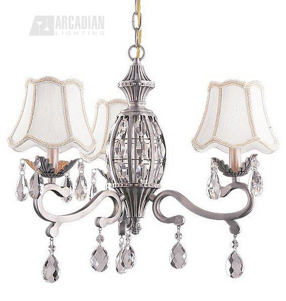 fan mc198 3 light crystal transitional ceiling fan light kit mc mc198. Black Bedroom Furniture Sets. Home Design Ideas