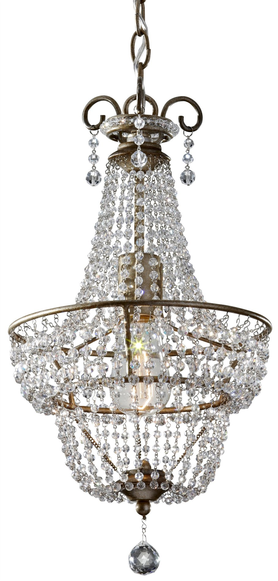 Murray Feiss F2709 1bus Dutchess Traditional Chandelier