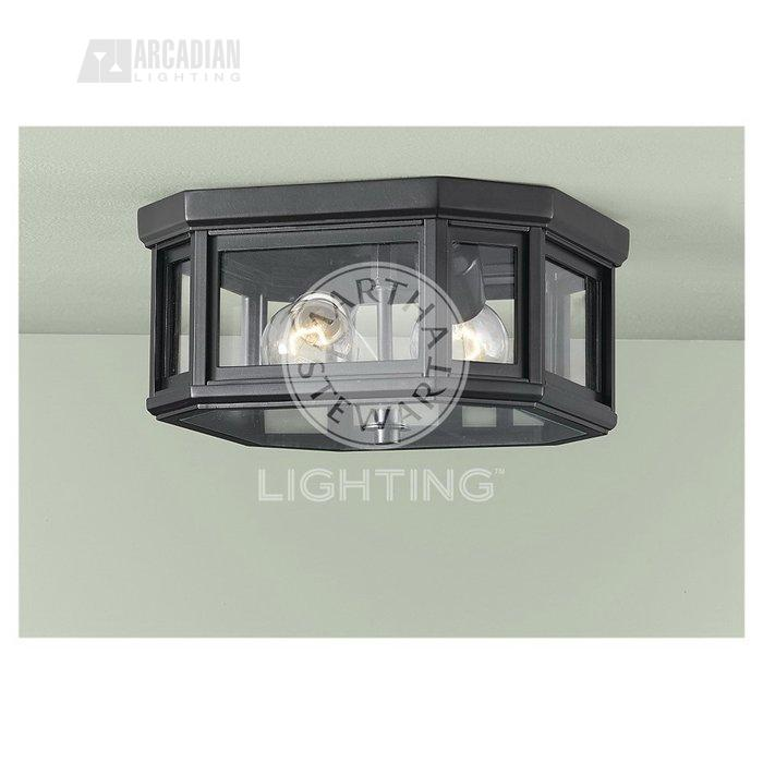 Murray feiss ol6113bsb arts and crafts transitional for Arts and crafts flush mount lighting