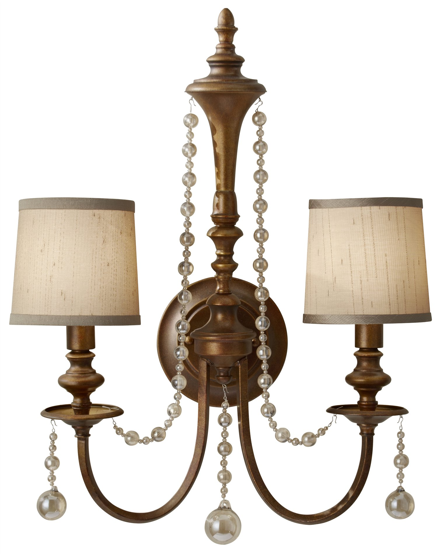 Murray Feiss Wall Sconces: Murray Feiss WB1582FG Clarissa Traditional Wall Sconce MRF