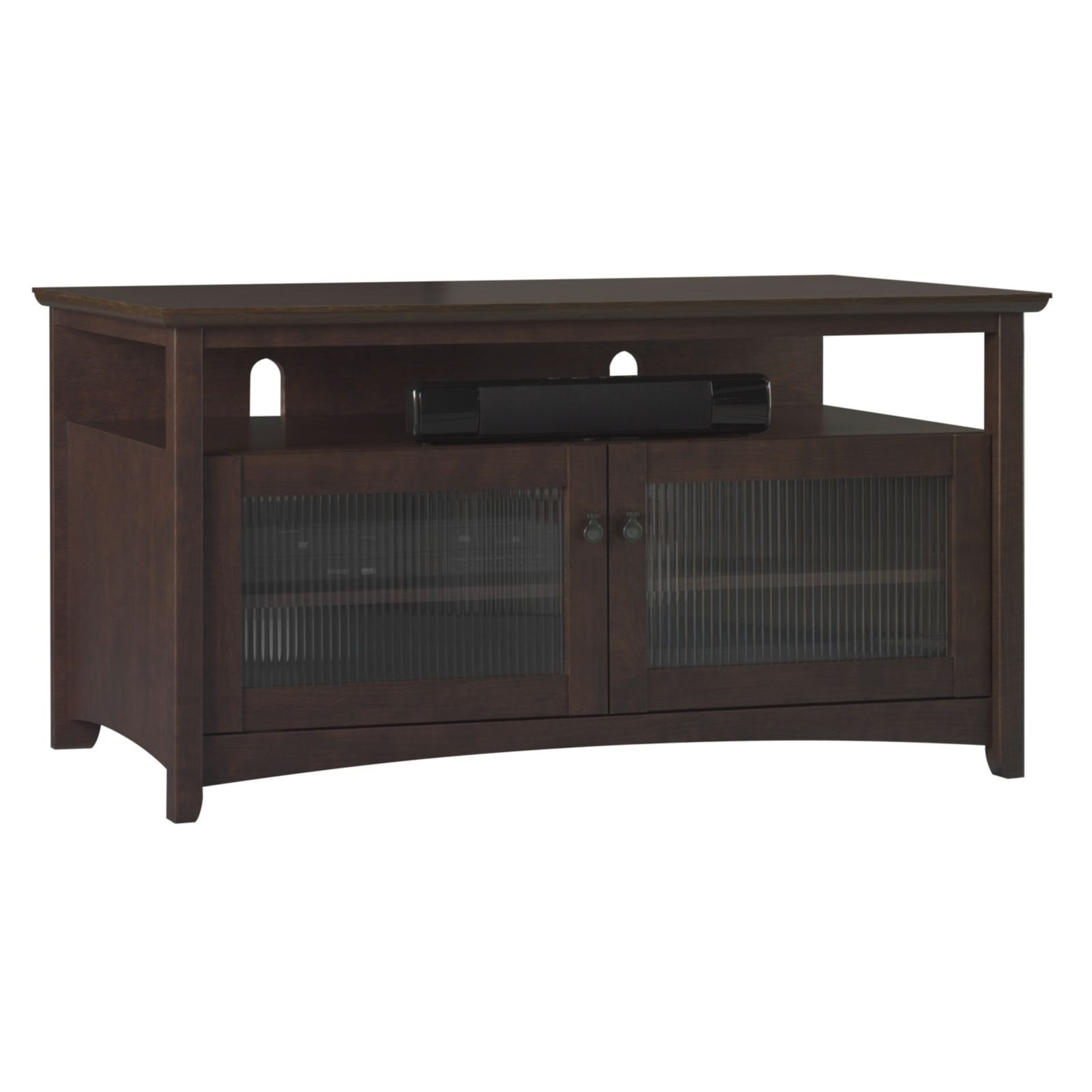 Bush furniture my13846 03 tv stand fits up to 50 tv bush for Bush furniture
