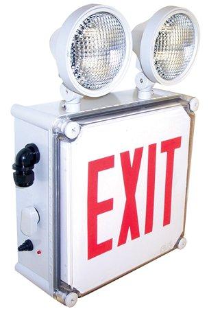 Nora Lighting Nex 710 Led Circle Led Emergency Exit With Battery Backup Nex 710 Led